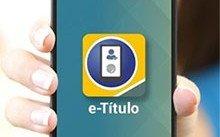 Título Eleitor App e-Título