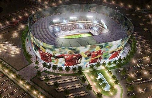 Estádio Al-Rayyan Copa 2022 Qatar