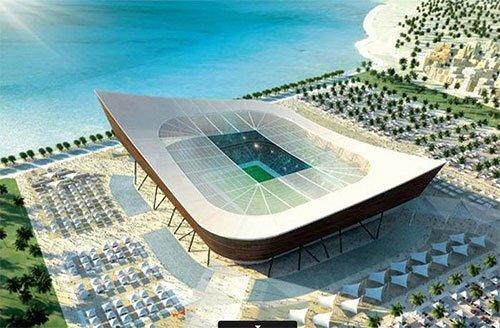 Estádio Al-Shamal Copa 2022 Qatar