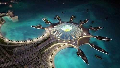 Estádio Doha Port Copa 2022 Qatar