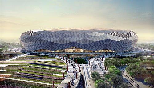 Estádio Fundação Catar Copa 2022 Qatar