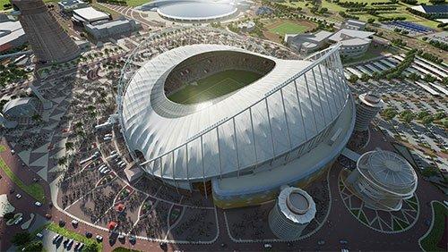 Estádio Khalifa Copa 2022 Qatar