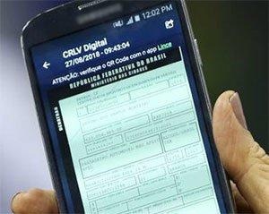 CRLV Digital Certificado Registro Veicular Eletrônica
